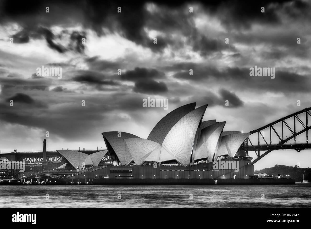 Opera house black and white stock photos images alamy