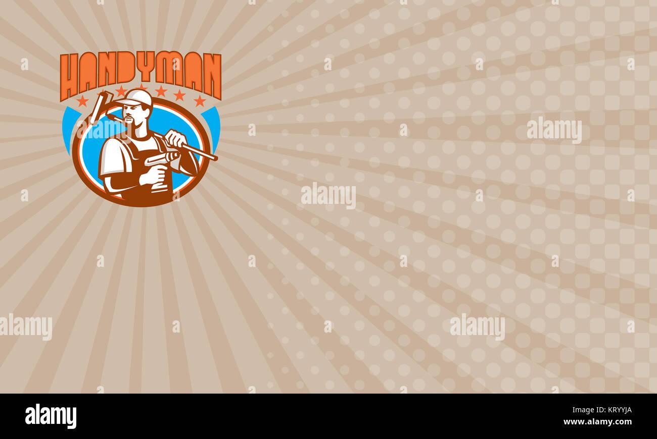 Star Handyman Business card Stock Photo: 169644786 - Alamy