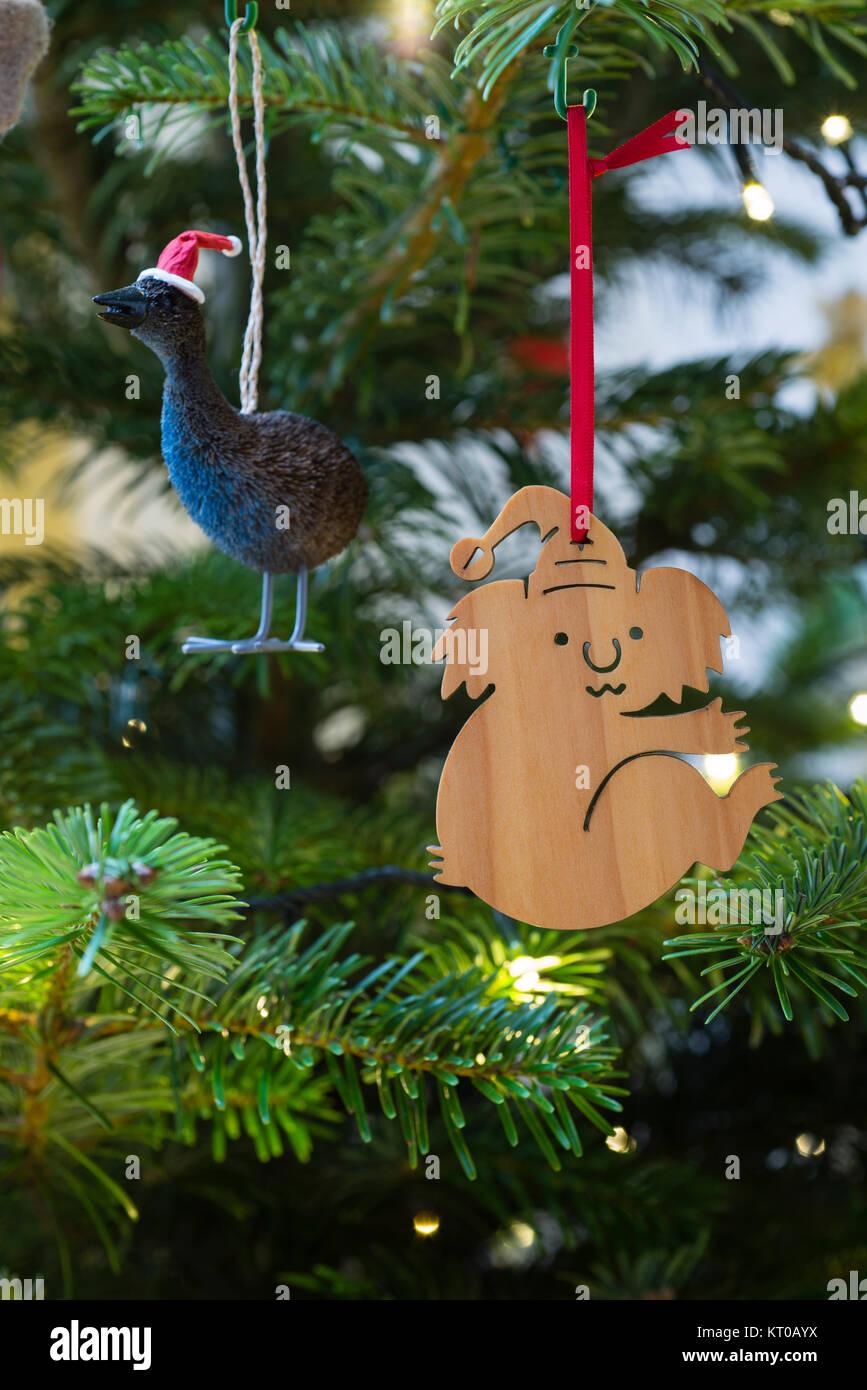 Australian Christmas Decorations Images.Australian Christmas Tree Decorations A Festive Koala And