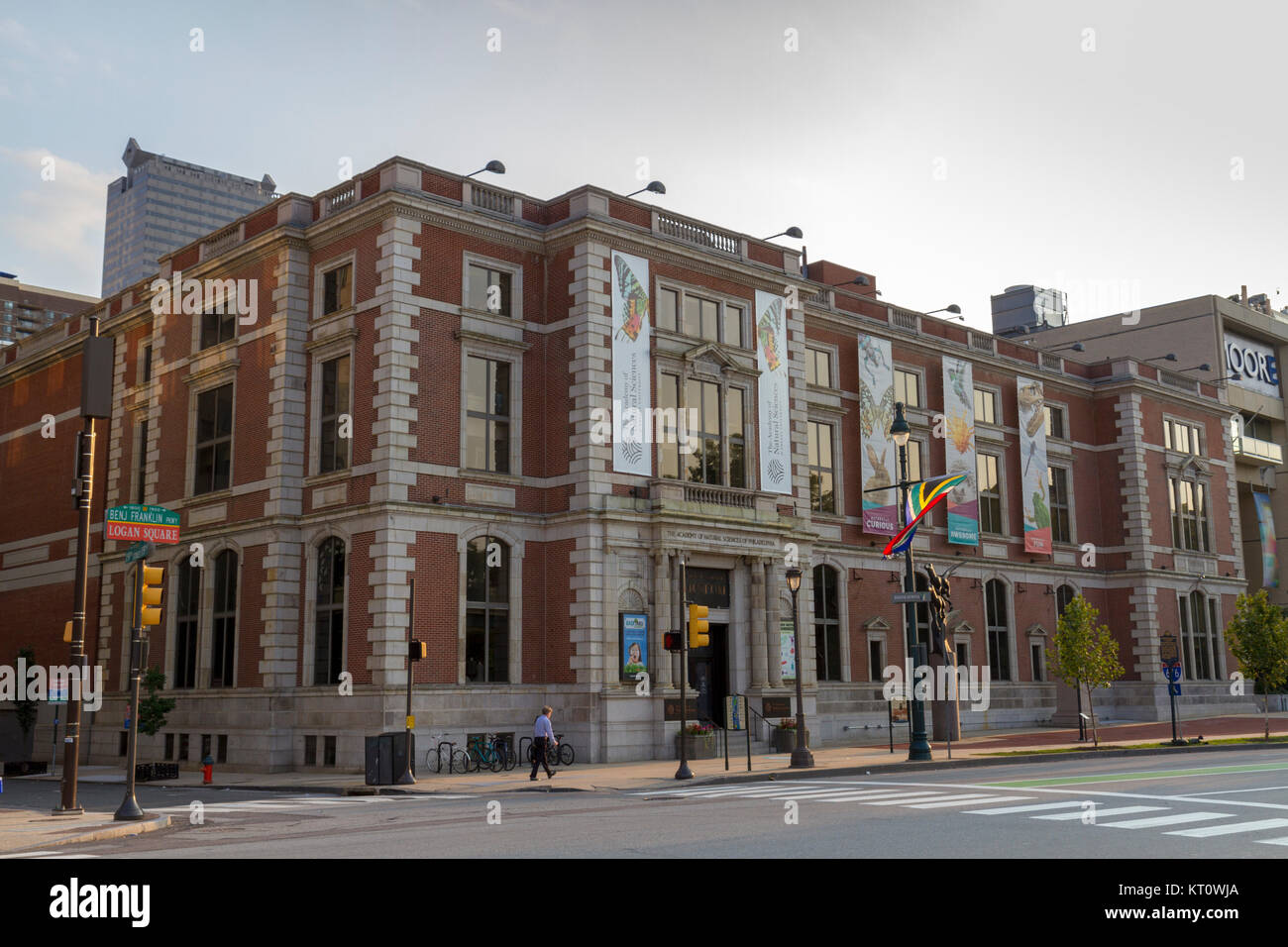 The Academy of Natural Sciences of Philadelphia building (Academy of Natural Sciences of Drexel University) in Philadelphia, - Stock Image