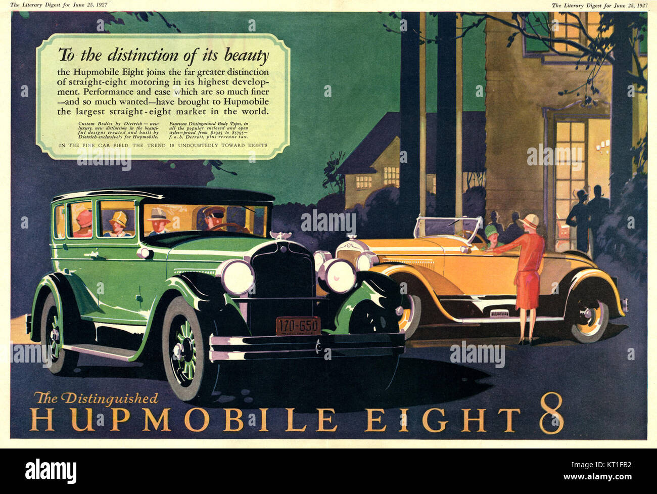 Illustration Hupmobile Stock Photos Illustration Hupmobile
