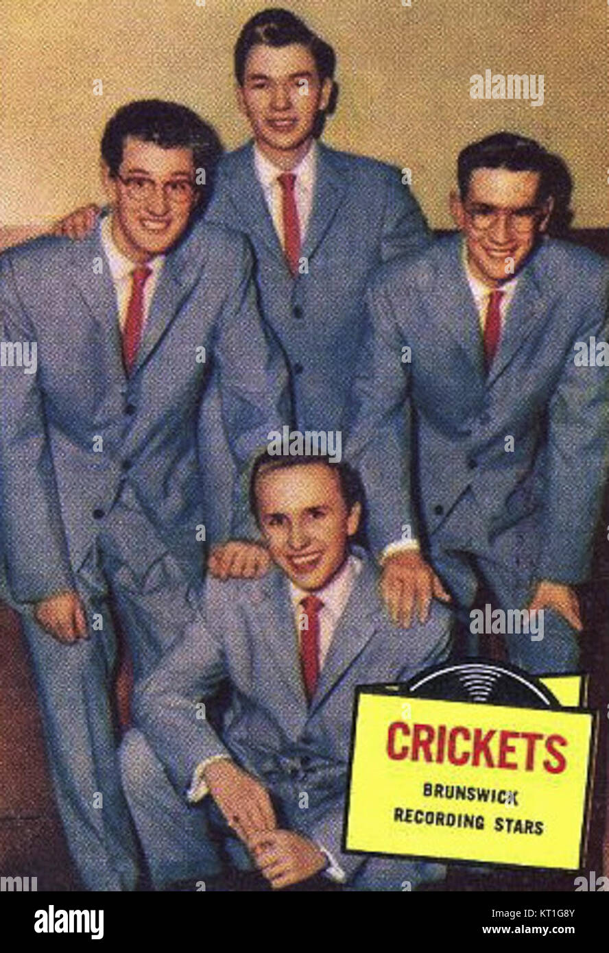 Buddy Holly And The Crickets Stock Photos Amp Buddy Holly