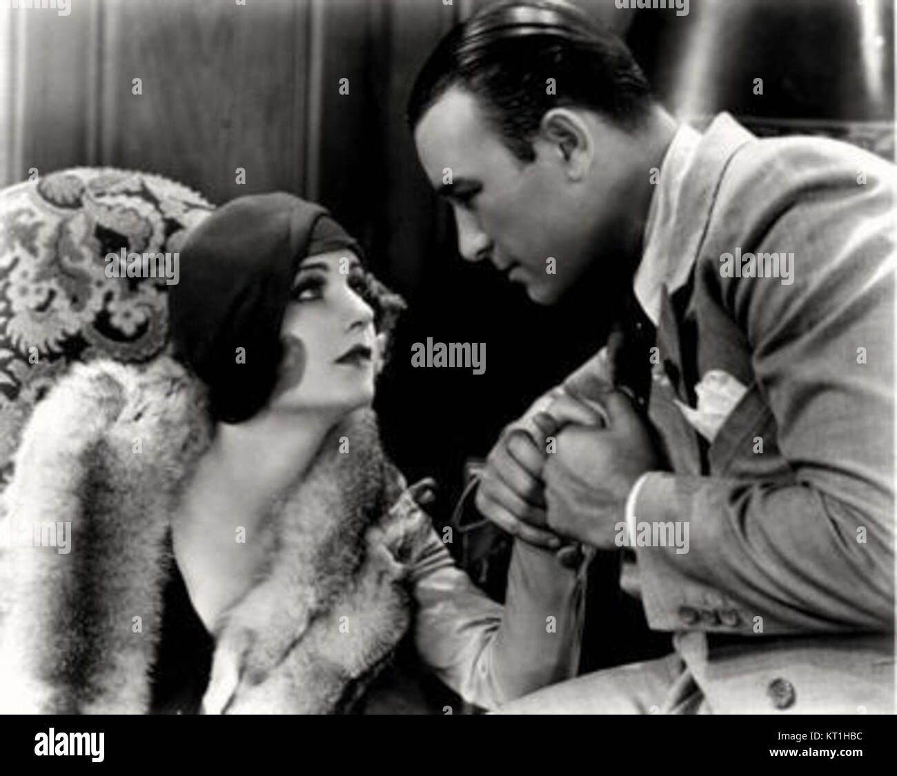 Carole Lombard-Robert Armstrong in The Racketeer - Stock Image