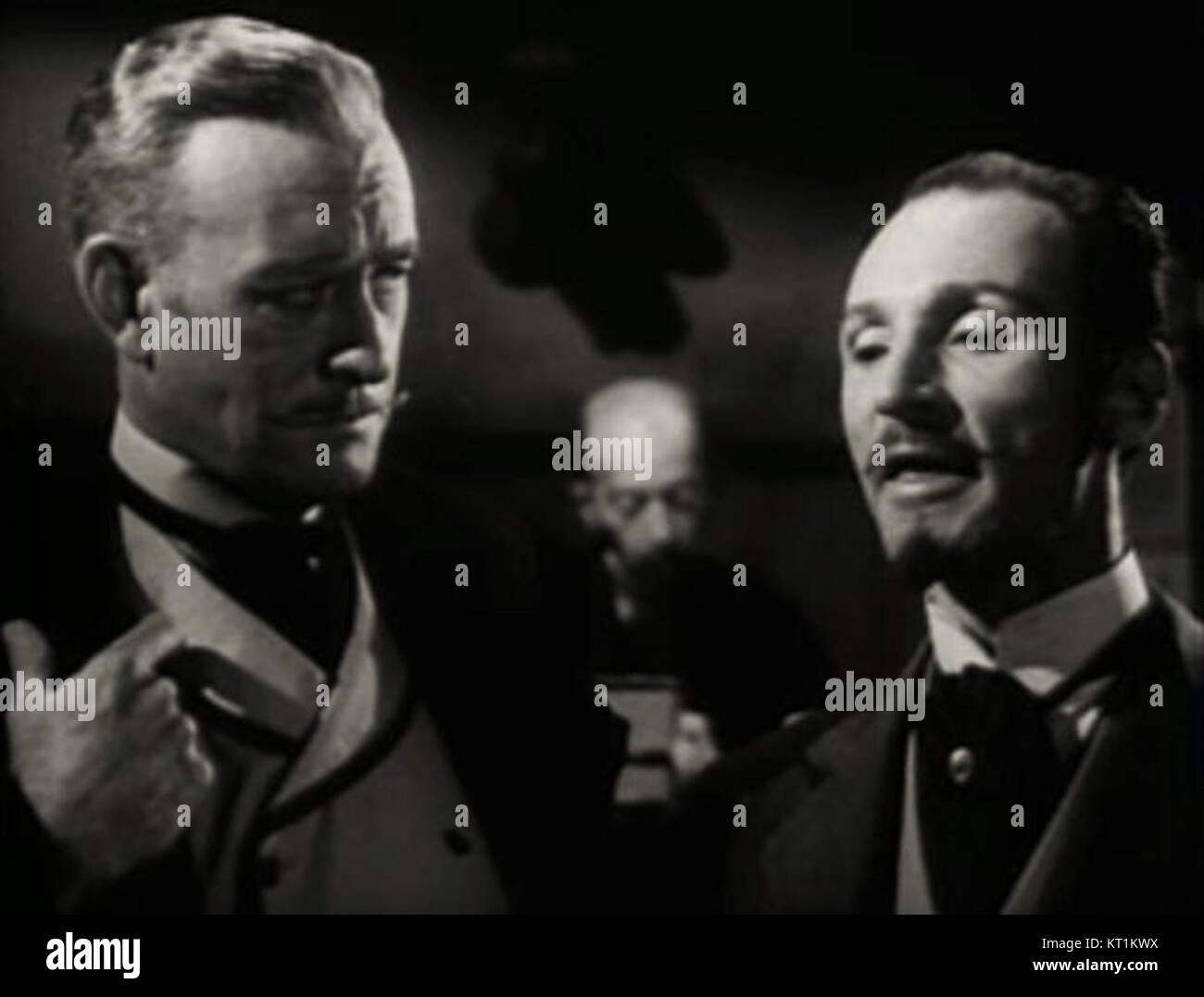 Conrad Nagel-Peter Brocco in The Vicious Circle - Stock Image