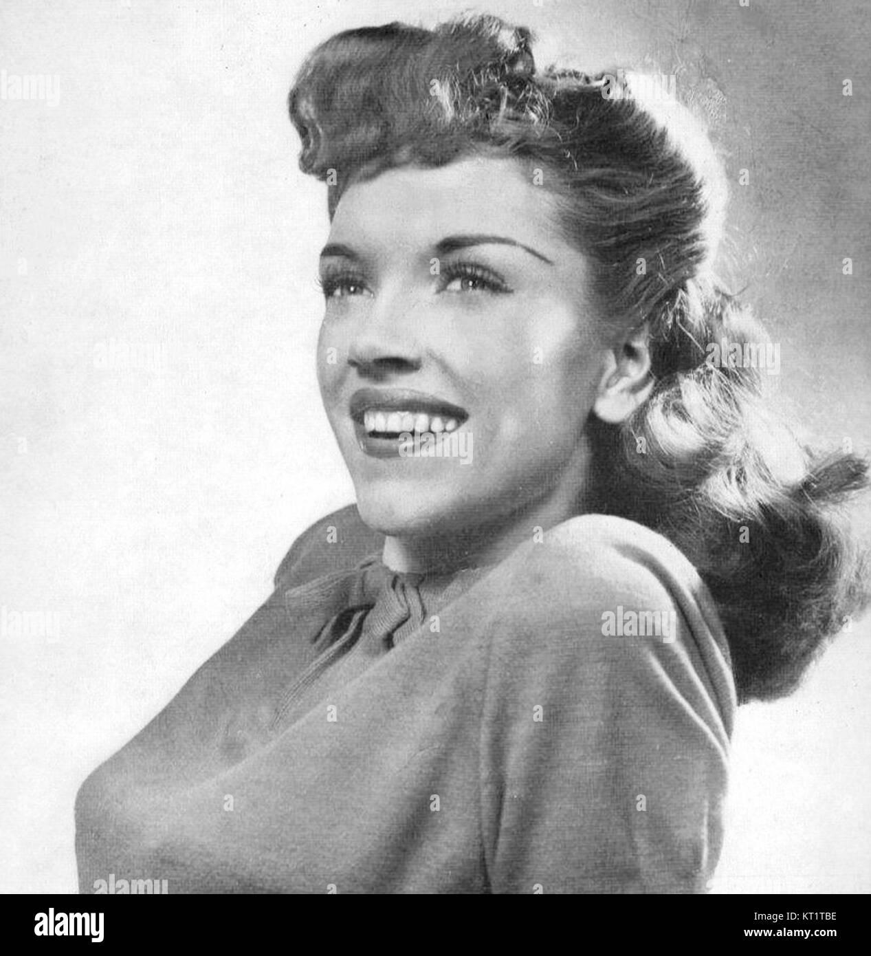 Ella Mae Morse Metronome May 1944 - Stock Image