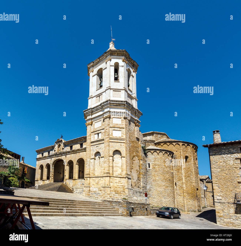 Cathedral, Roda de Isabena - Stock Image