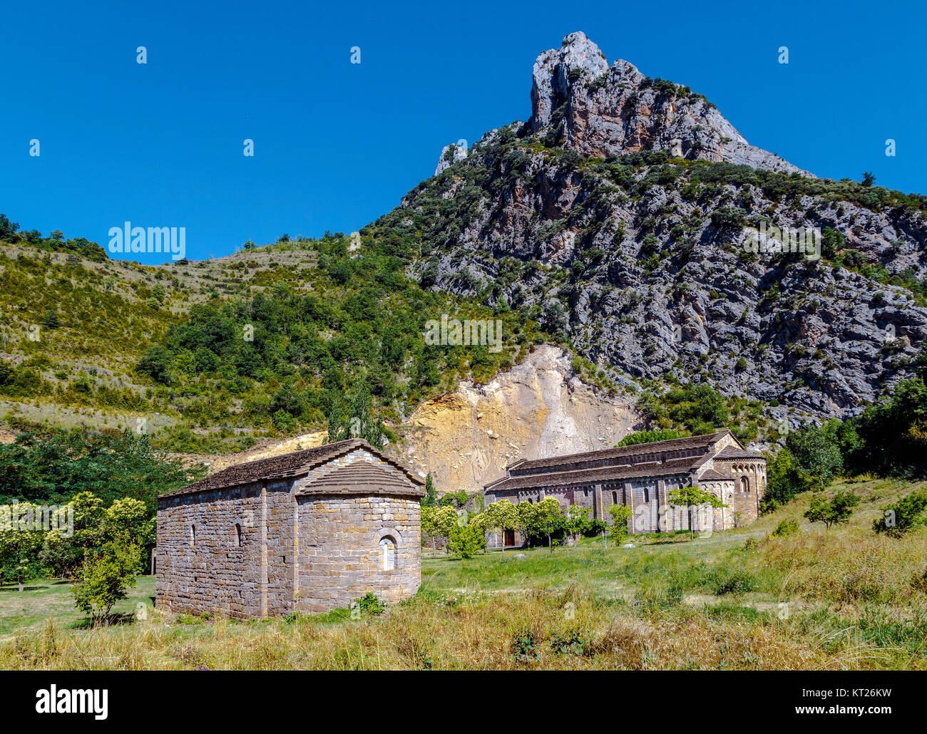 Santa Maria de Obarra - Stock Image