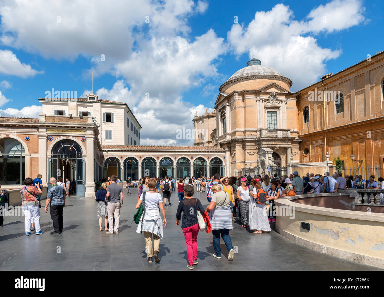 Vatican Museums, Vatican City, Rome, Italy - Stock Image
