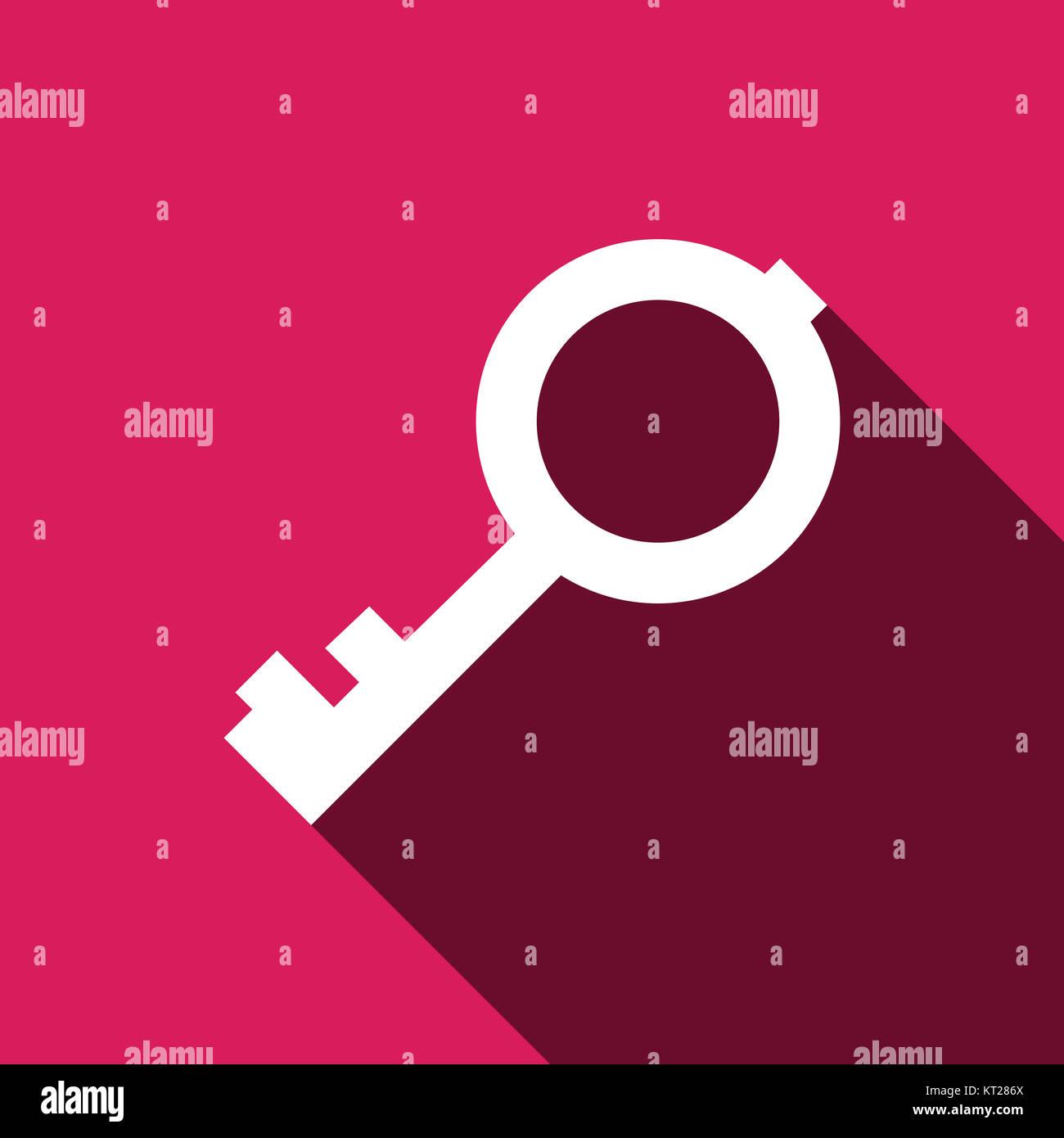 Key vector icon Stock Photo
