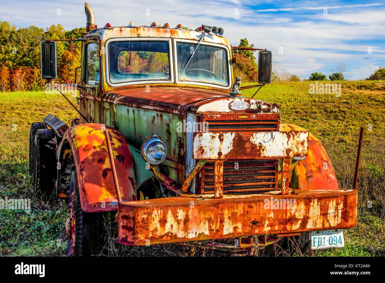 old mack truck stock photos old mack truck stock images alamy