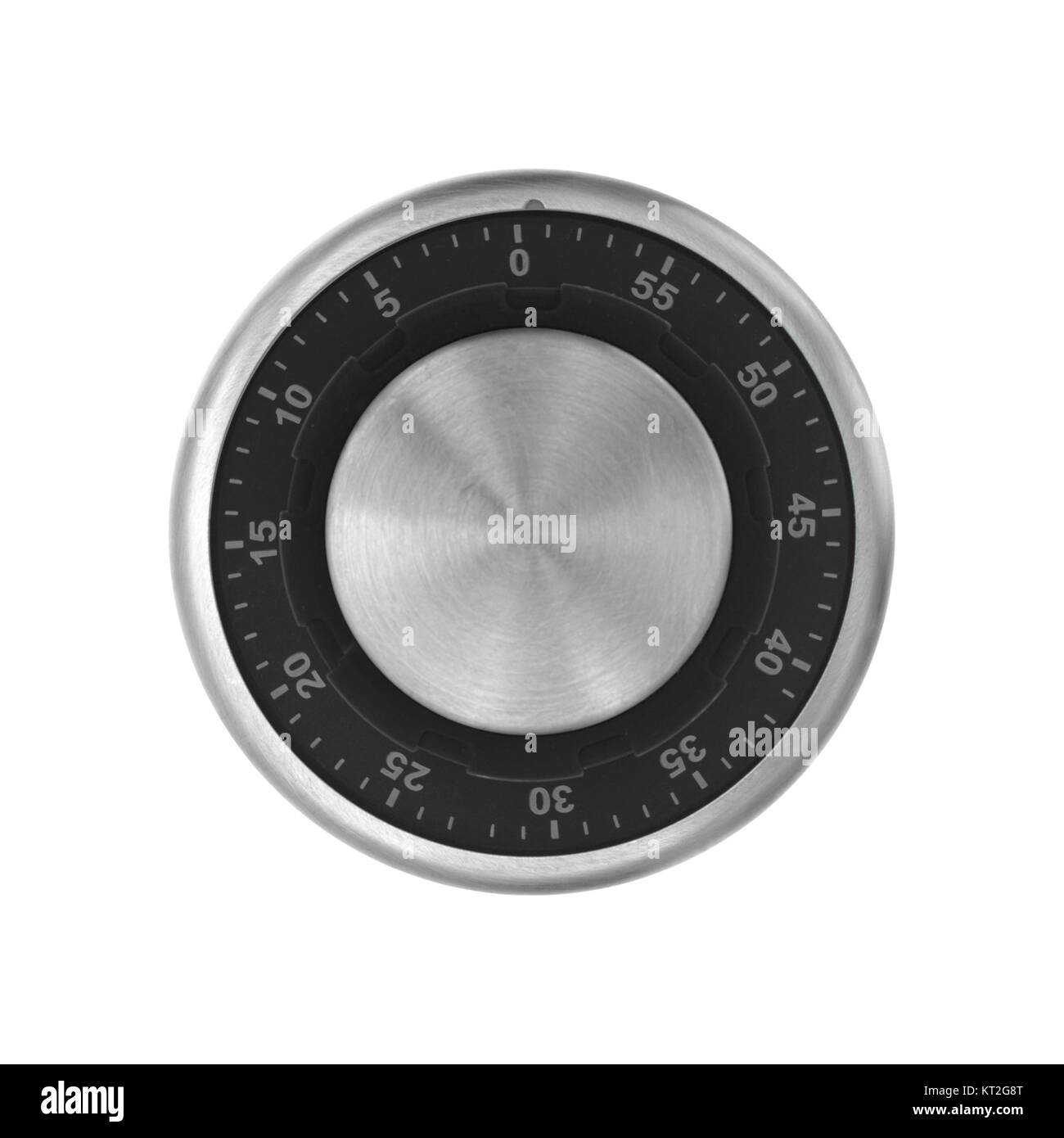 A combination dial isolated against a white background - Stock Image