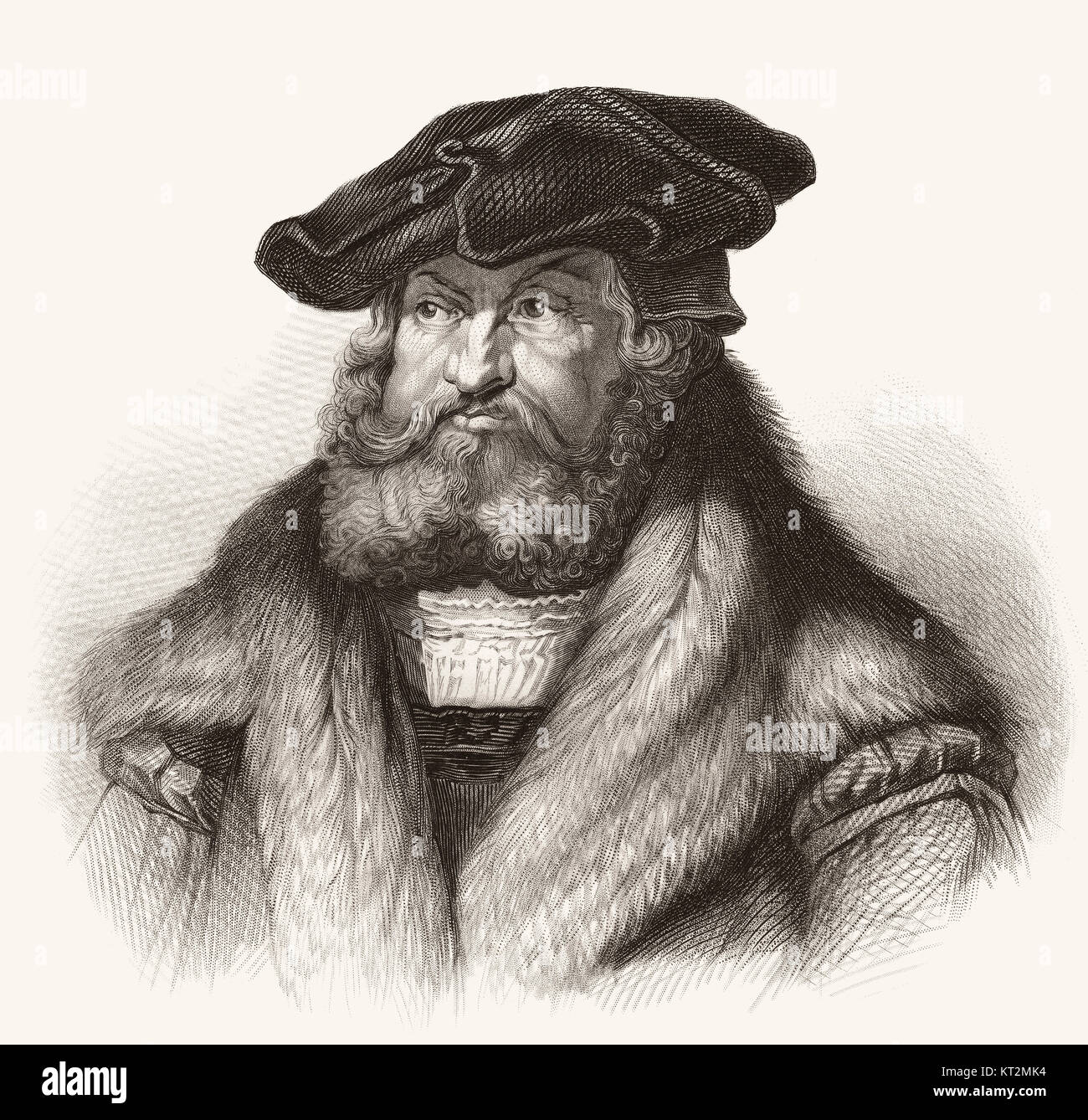 Frederick III or Frederick the Wise, 1463 - 1525, Elector of Saxony - Stock Image