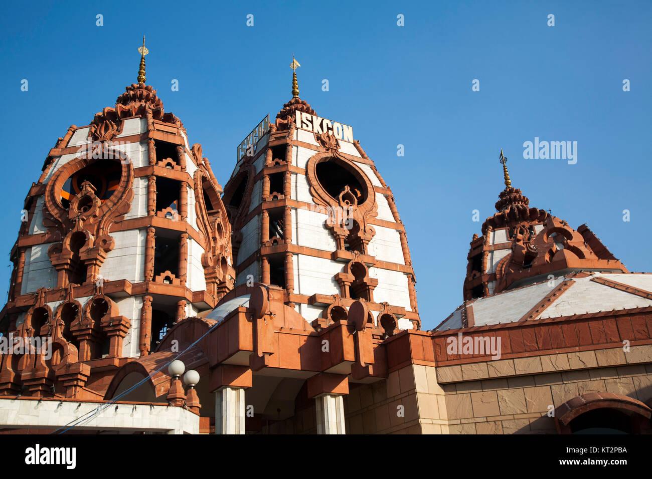 Sri Sri Radha Parthasarathi Mandir ISKCON temple - Stock Image