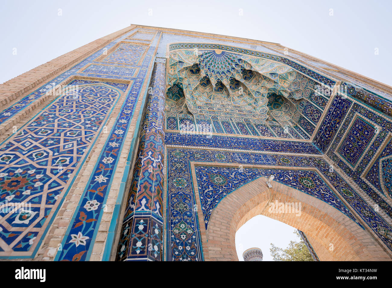 Gur-e Amir Mausoleum Gate - Stock Image