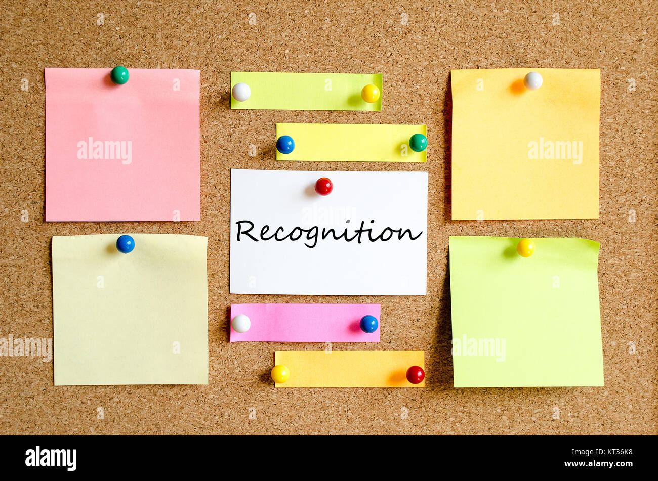 Recognition text concept - Stock Image