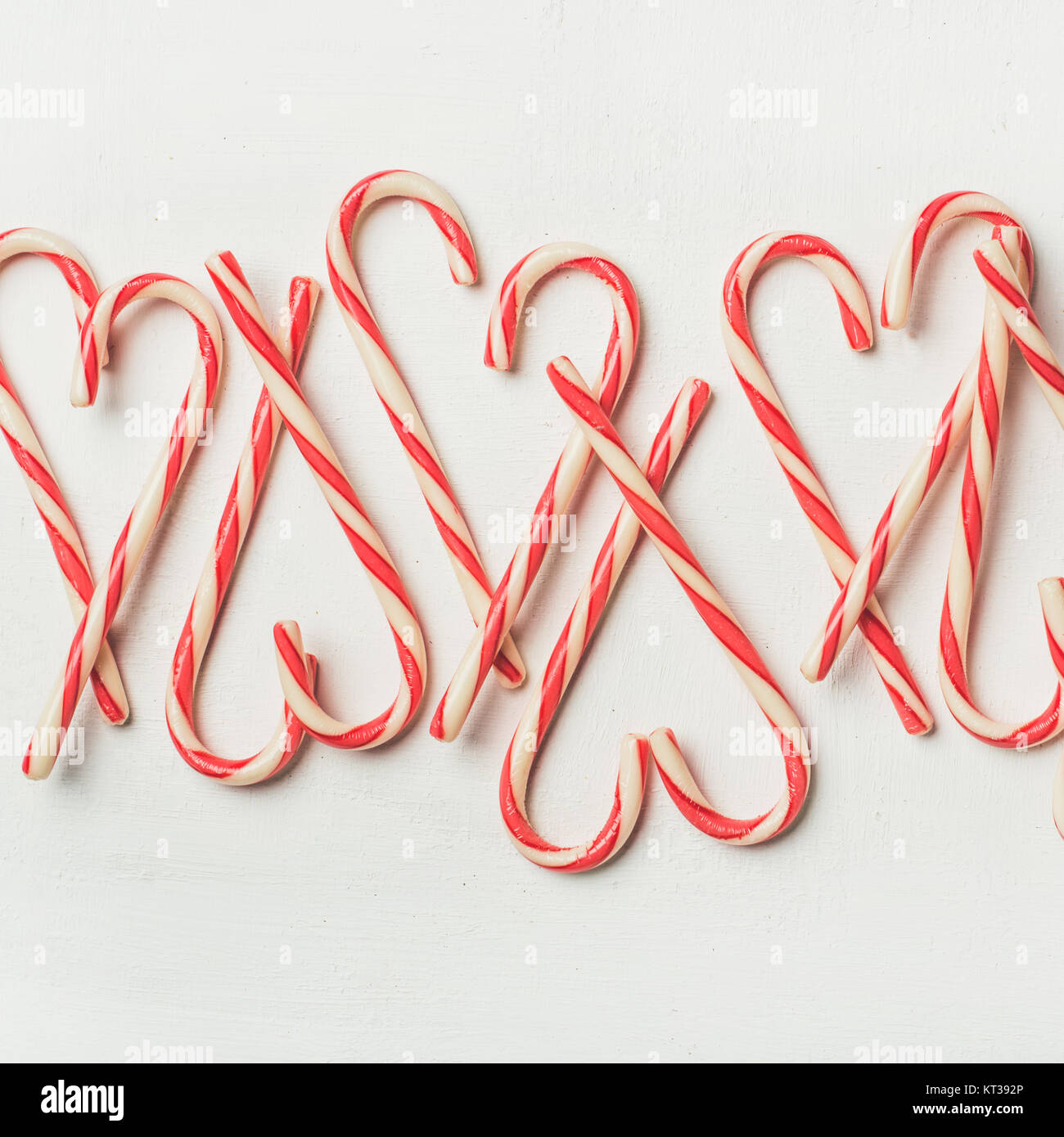 Christmas Holiday Red Candy Cane Pattern Texture And Background On