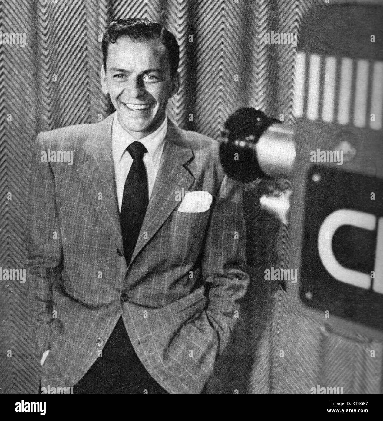 Frank Sinatra Metronome magazine November 1950 - Stock Image
