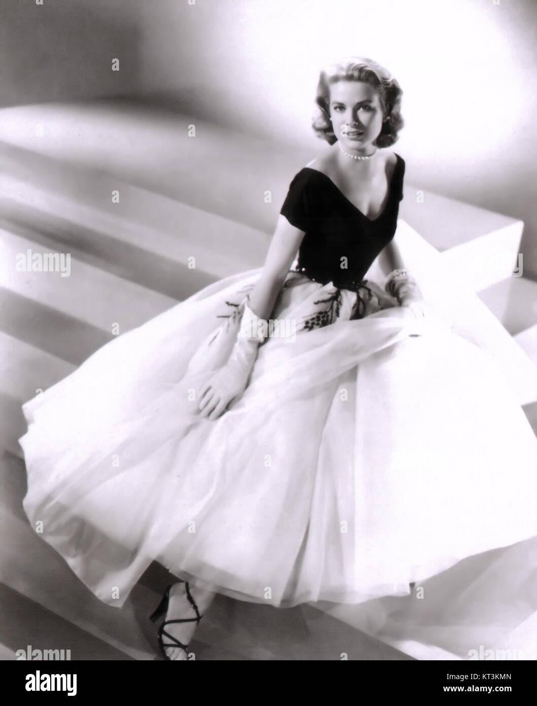 Grace Kelly Promotional Photograph Rear Window - Stock Image