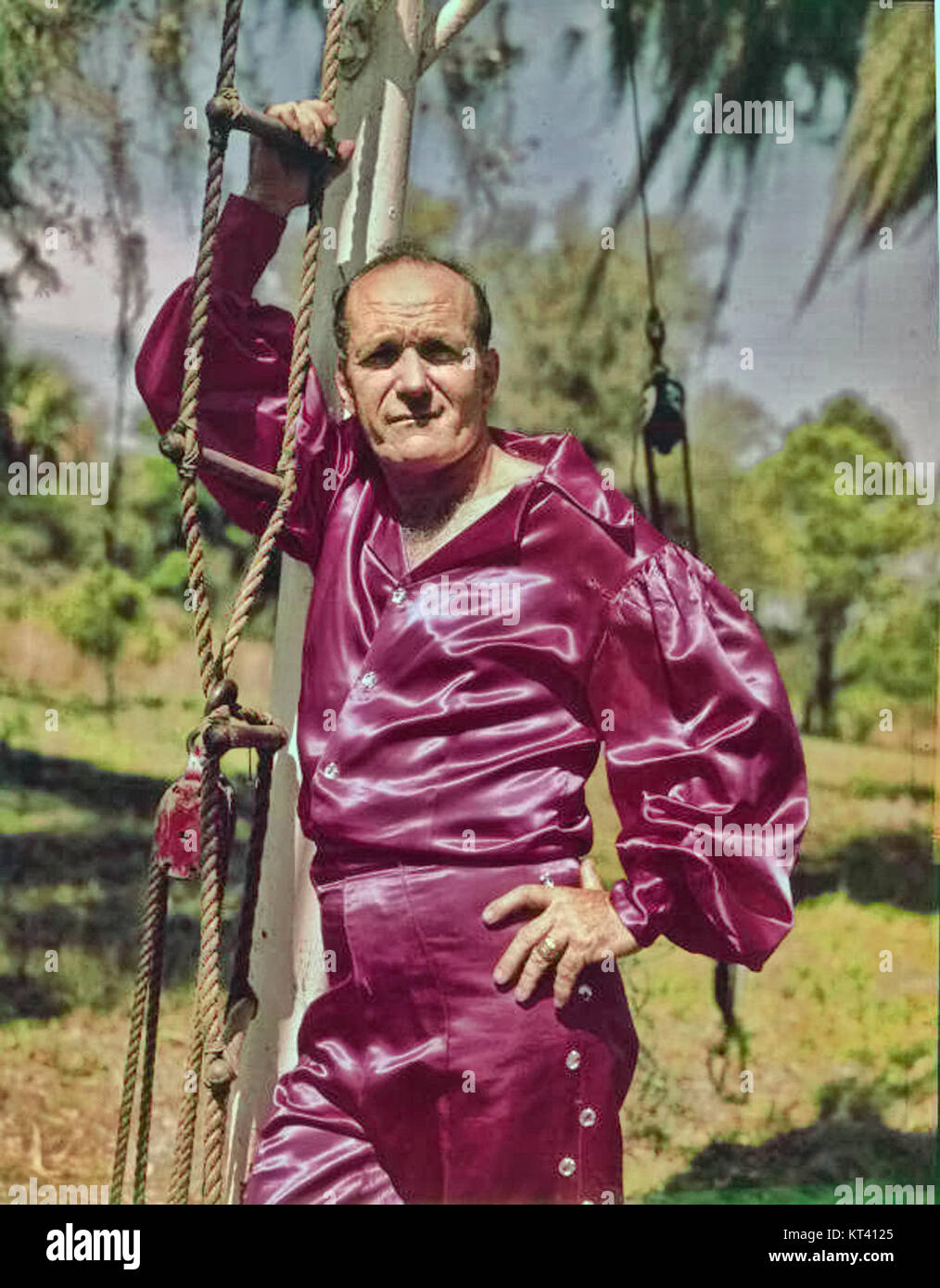 Karl Wallenda in Sarasota, Florida - Stock Image