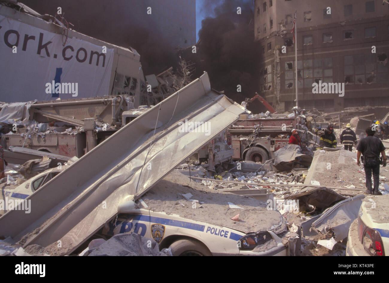 LOC unattributed Ground Zero photos, September 11, 2001 - item 111 - Stock Image