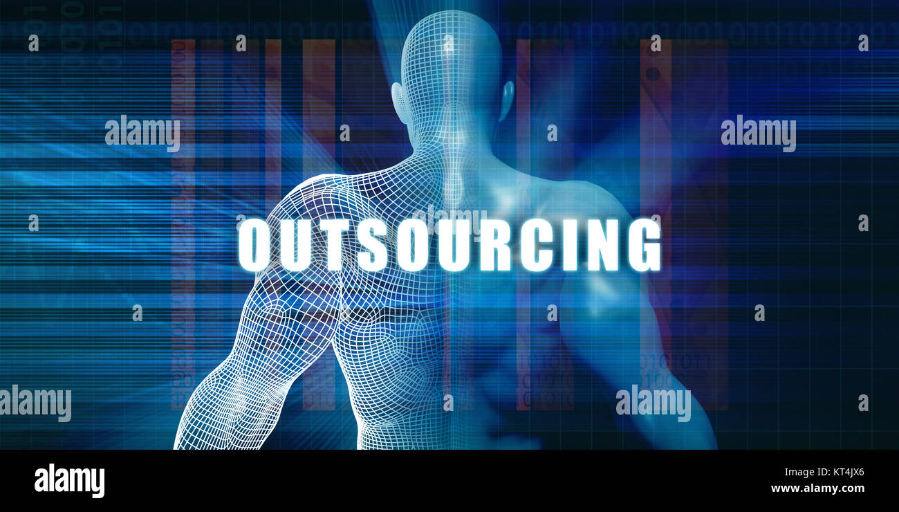 Outsourcing - Stock Image
