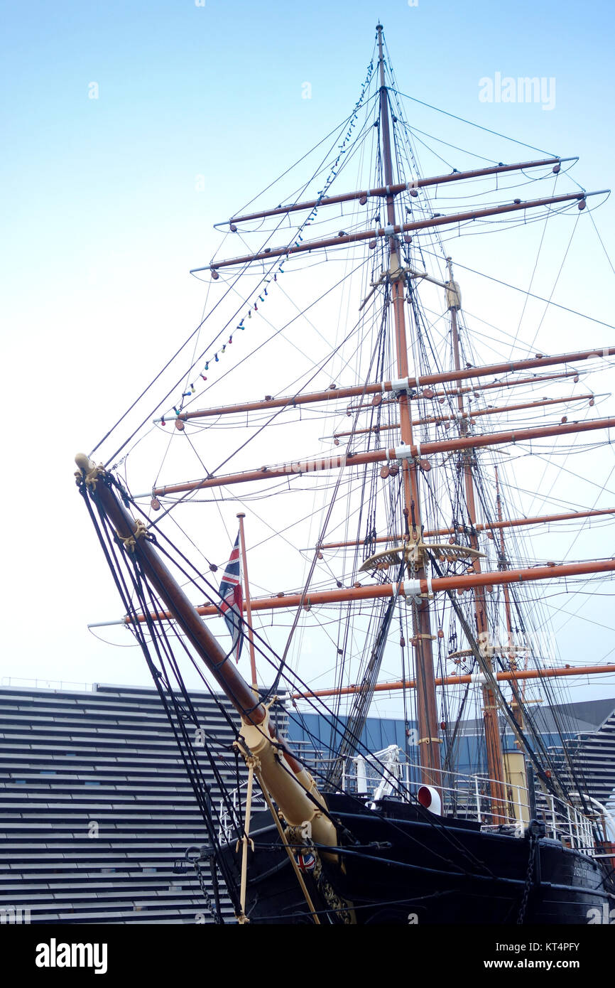 The V&A and Discovery in Dundee - Stock Image