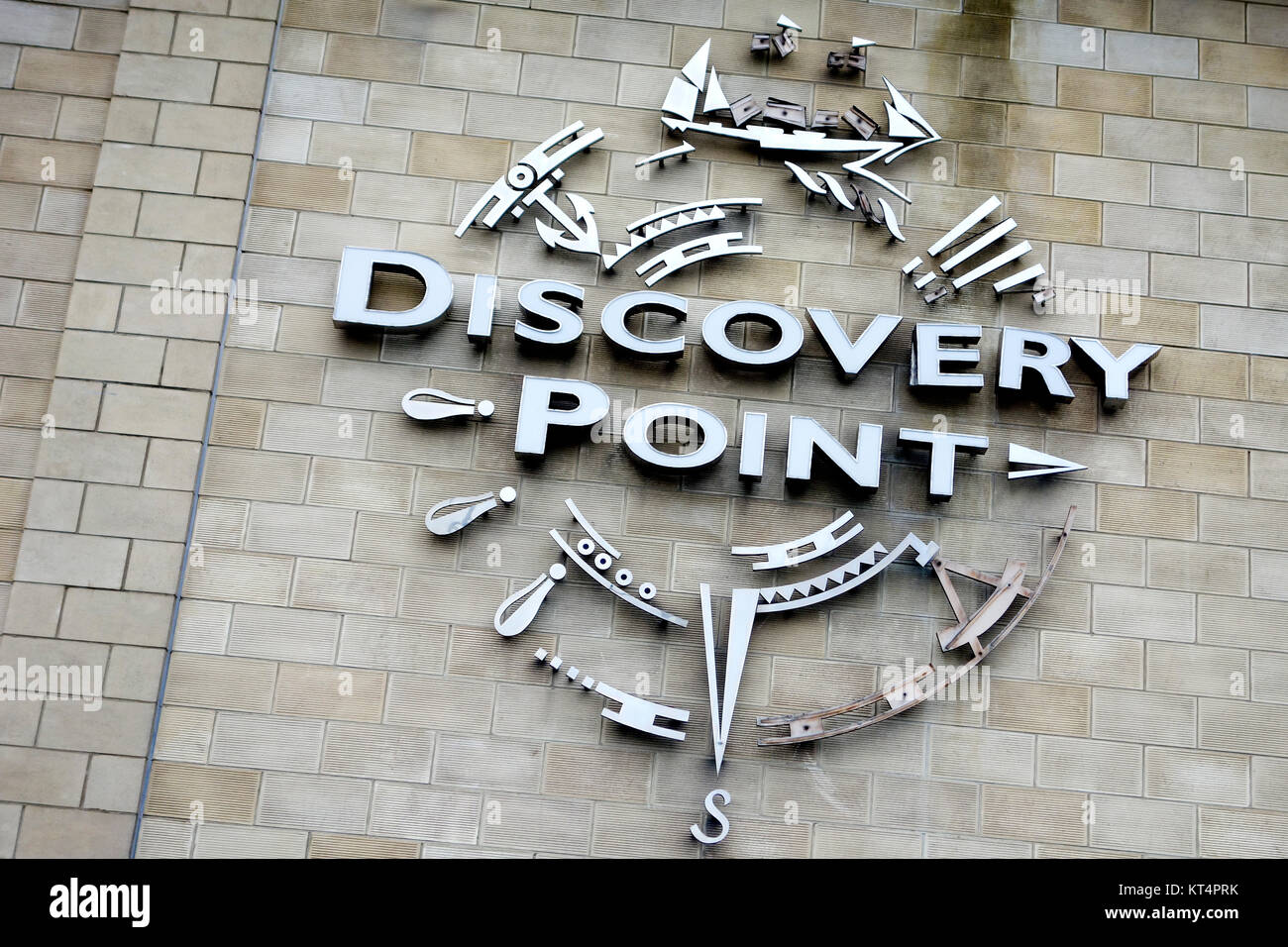 Discovery Point, Dundee. - Stock Image