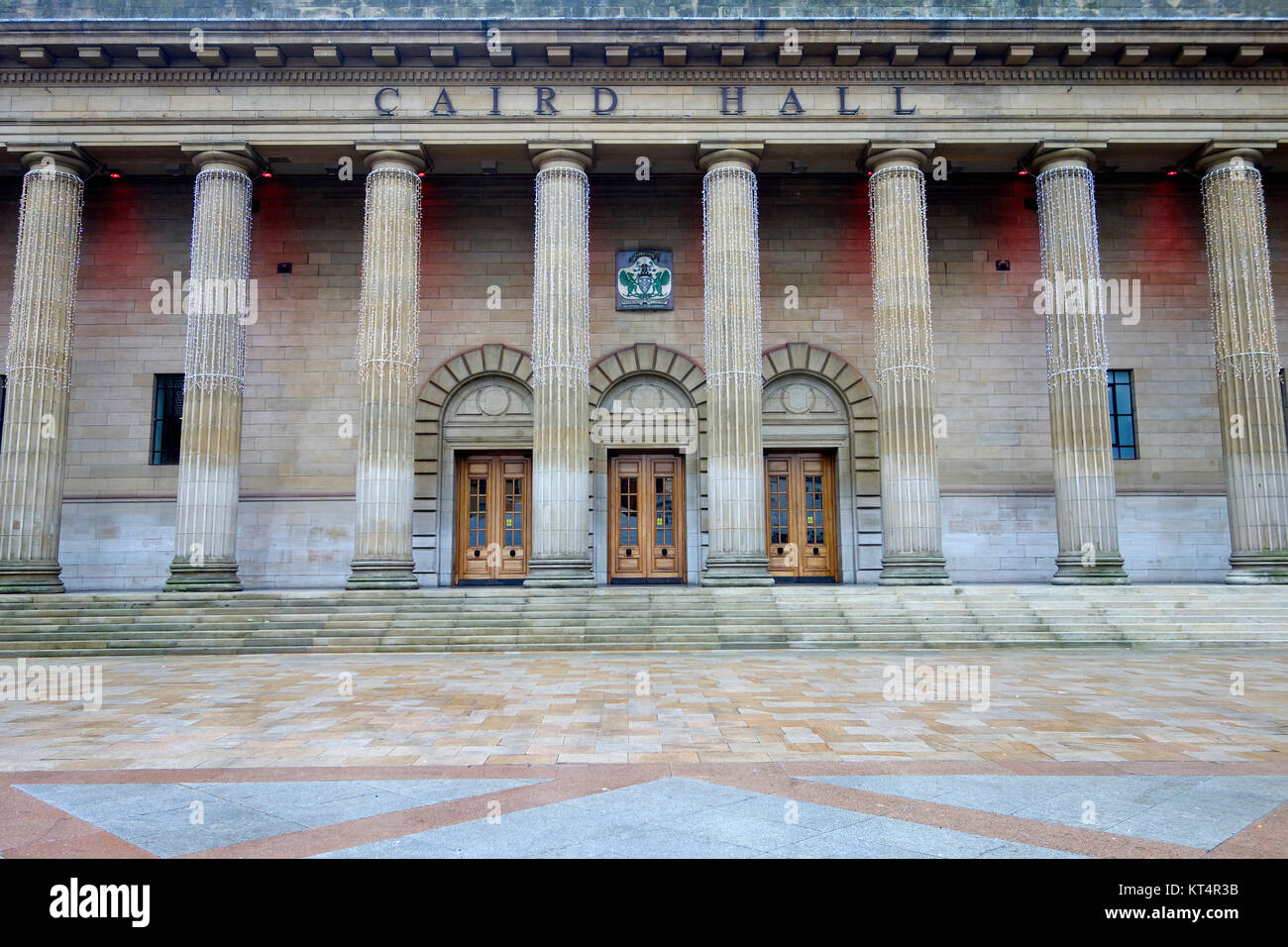 Caird Hall, Dundee, Scotland. - Stock Image