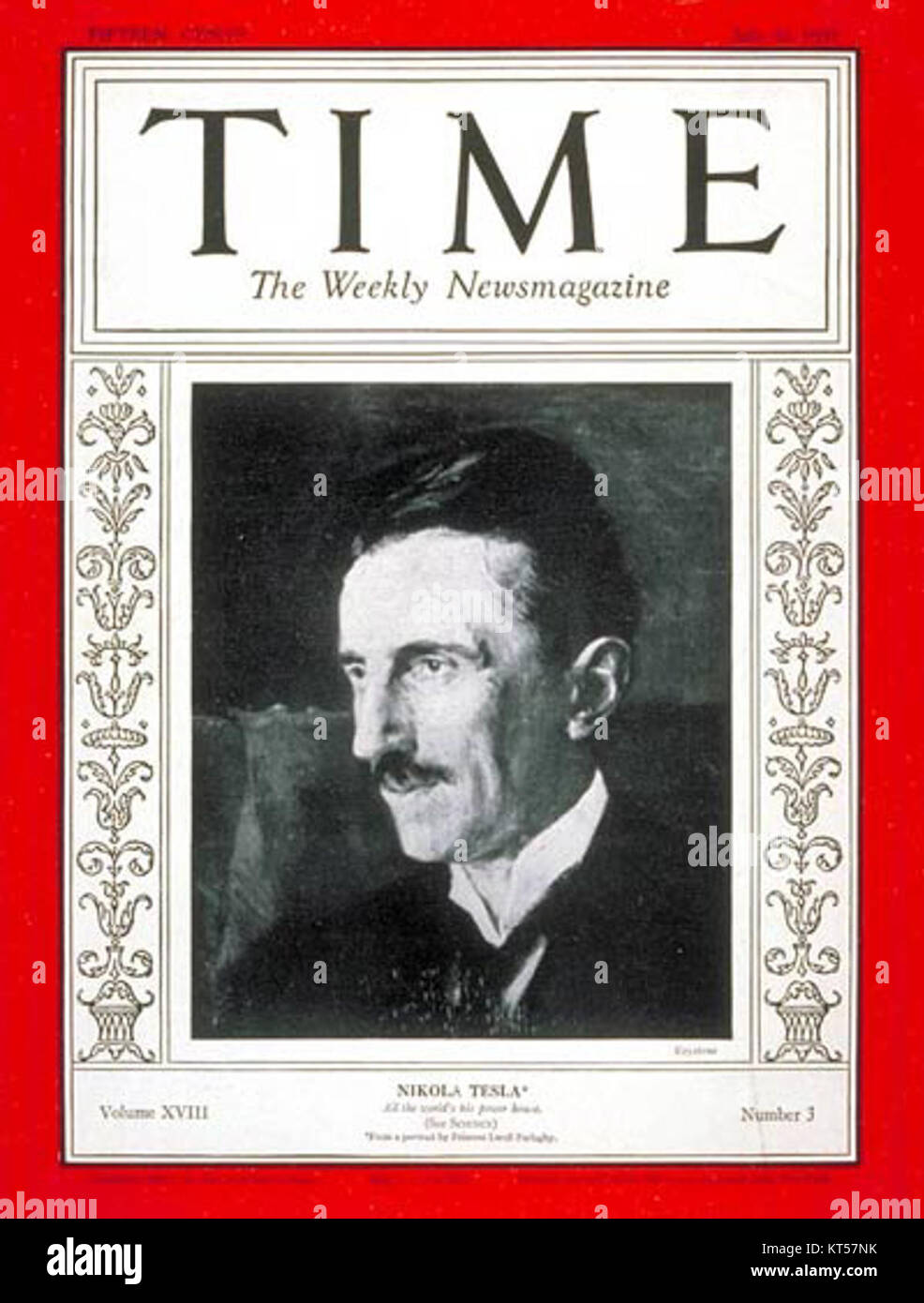 Old Time Magazine Illustration Stock Photos & Old Time