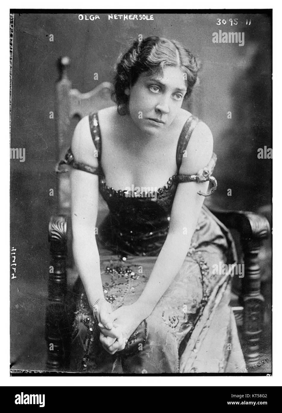 Olga Nethersole - Stock Image