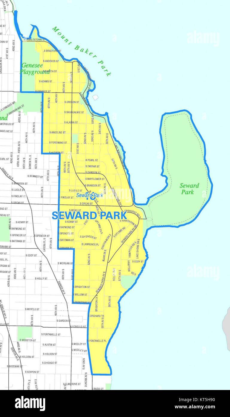 Seattle - Seward Park map Stock Photo: 169768396 - Alamy on boston park map, bay alaska map, johnson park map, carkeek park map, genesee park map, volunteer park map, louisville park map, los angeles park map, lincoln park map, alki point map, frontier park map, webster park map, crown hill map, kenai fjords alaska map, taylor park map, anchorage park map, jacobs creek park map, derry township park map, lake wilderness park map, elm creek park map,