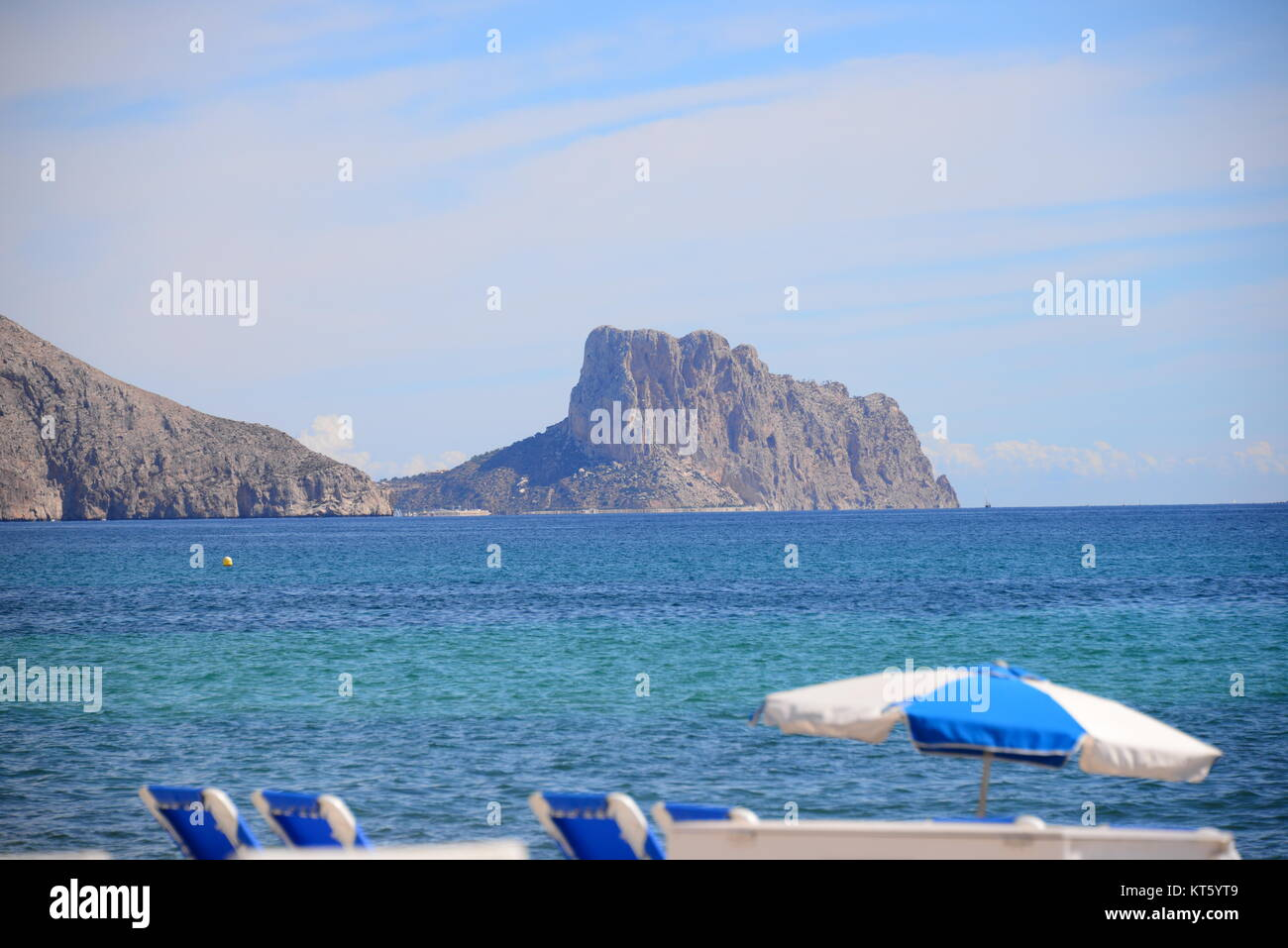 city views of altea - costa blanca - spain Stock Photo