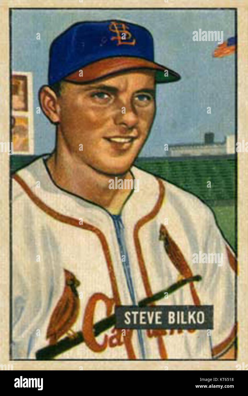 Steve Bilko - Stock Image
