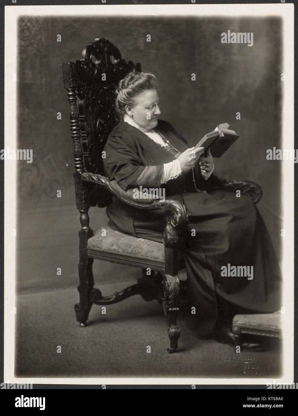 TIME Magazine cover from March 2, 1925 featuring Amy Lowell - Stock Image
