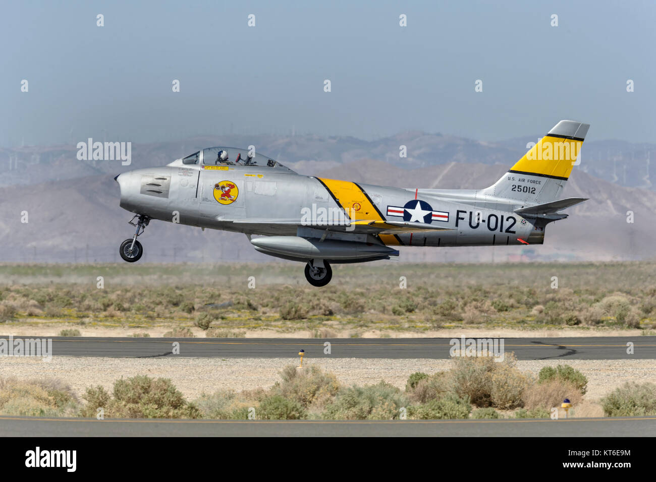 North American F86 Sabre - Stock Image