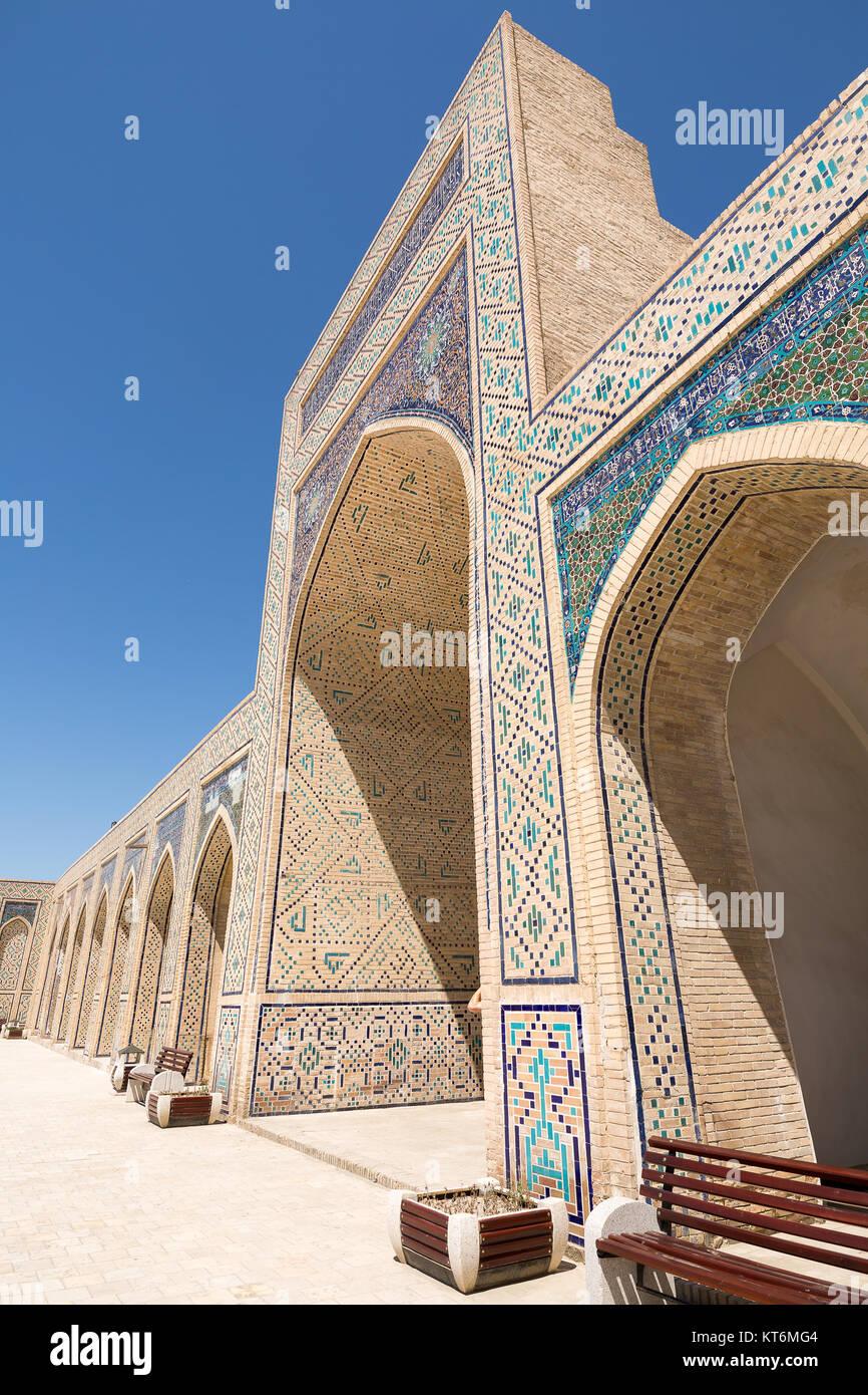 Kalon Mosque Madrasa is Buhara Usbekistan - Stock Image