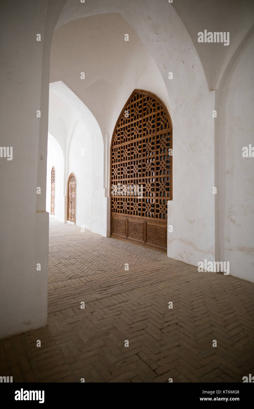 Gates in Shahrisabz Usbekistan - Stock Image