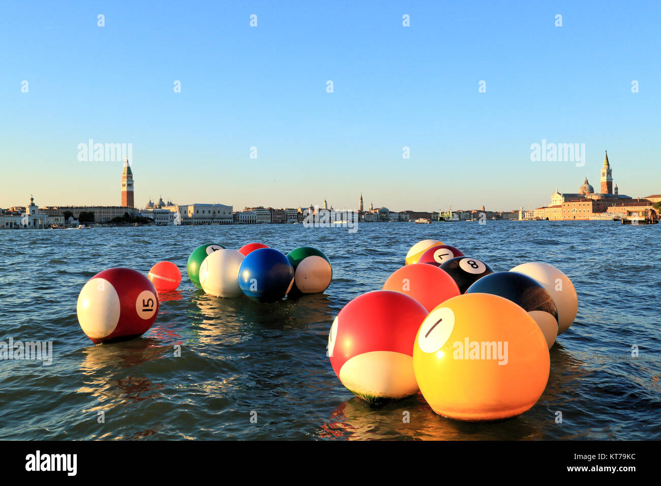 River Pool by Otto Vincze at Venice Biennale 2017 - Stock Image