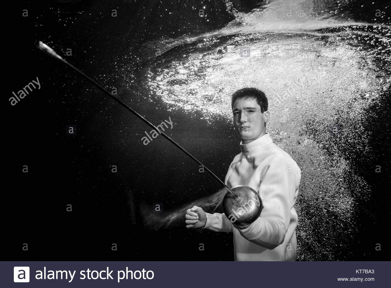 Epee Fencing Black And White Stock Photos Amp Images Alamy