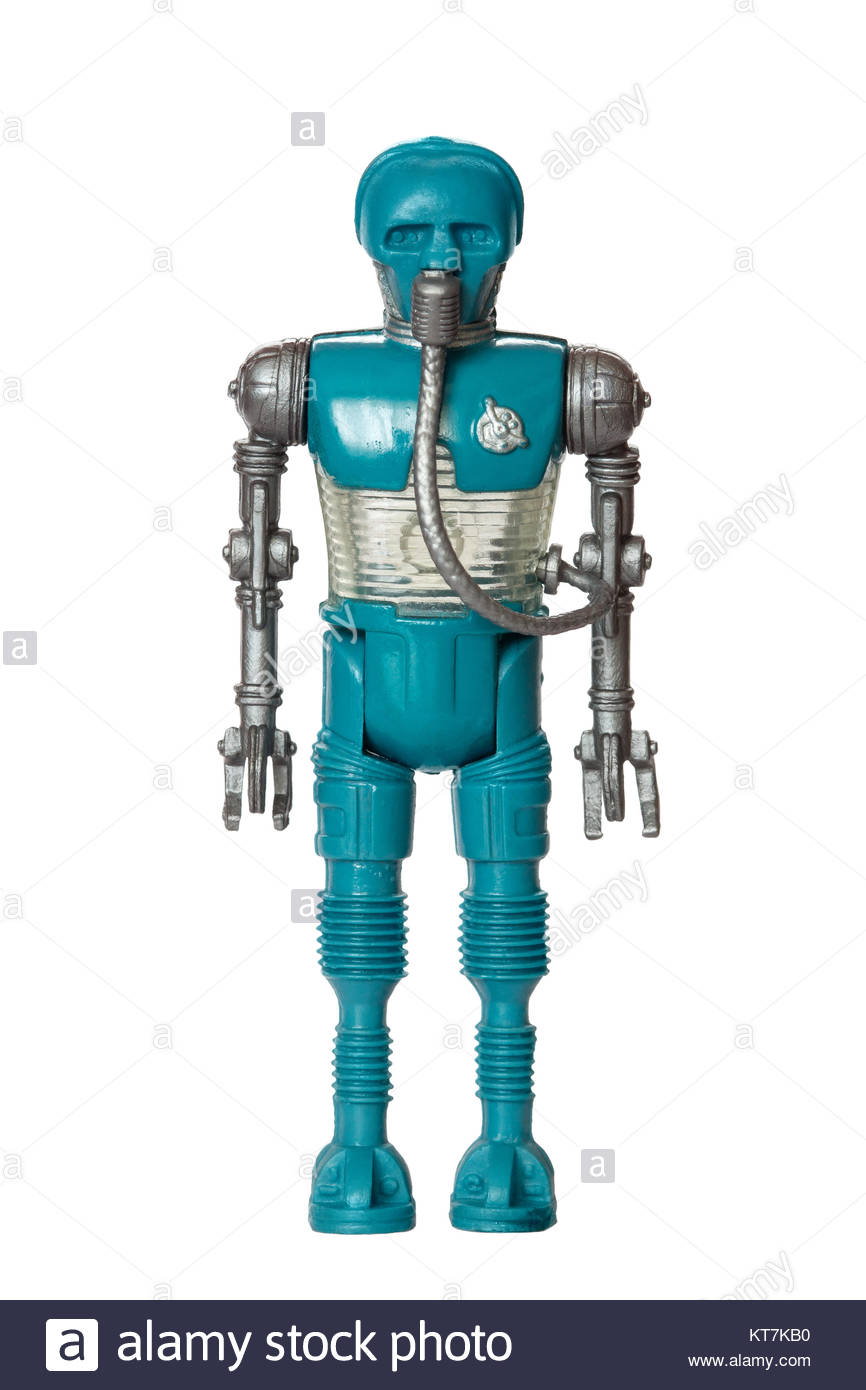 Original Star Wars action figure by Kenner : 2-1b Medical Droid (1980) Stock Photo