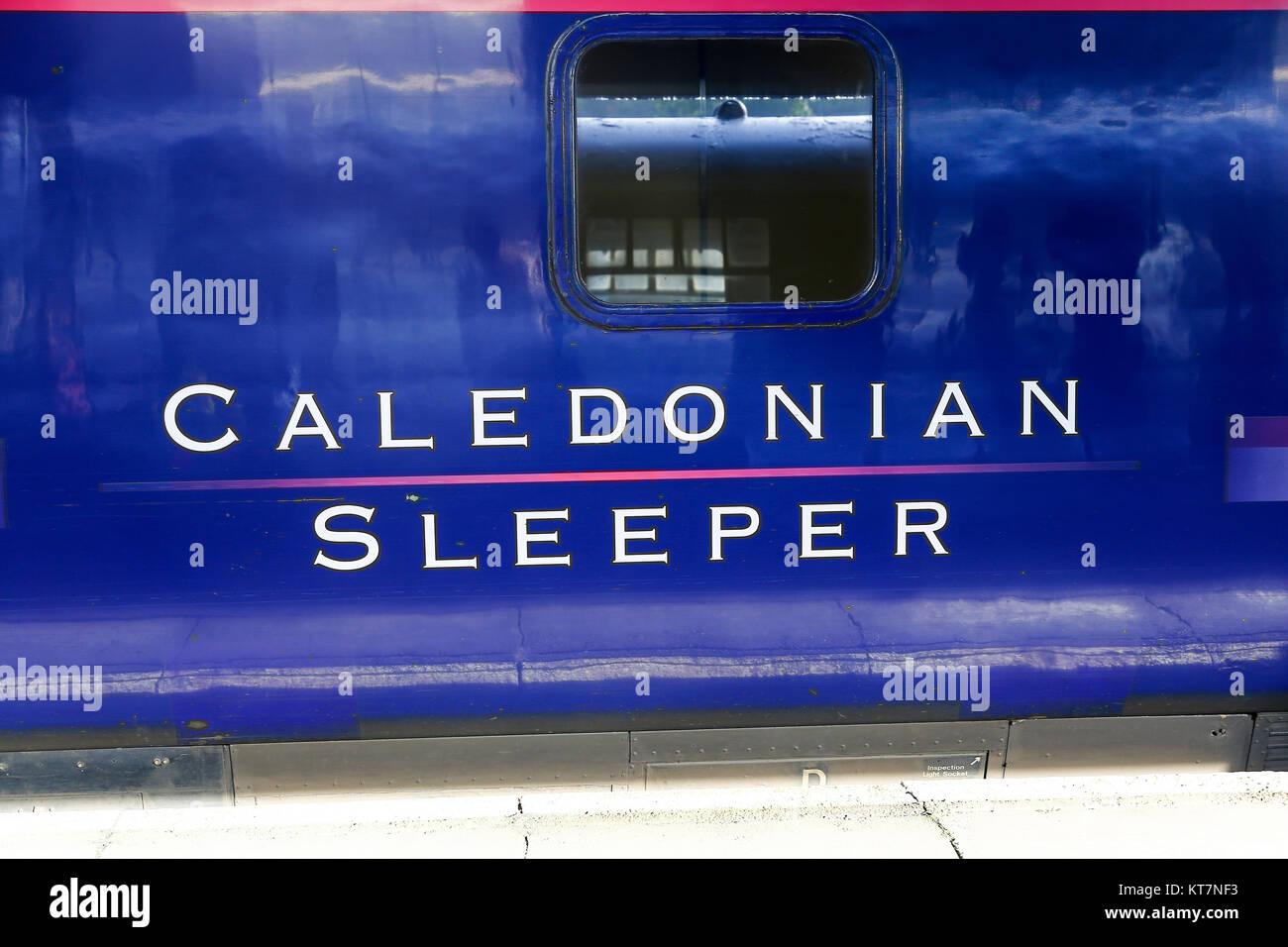A Caledonian Sleeper Carriage An Overnight Train Service