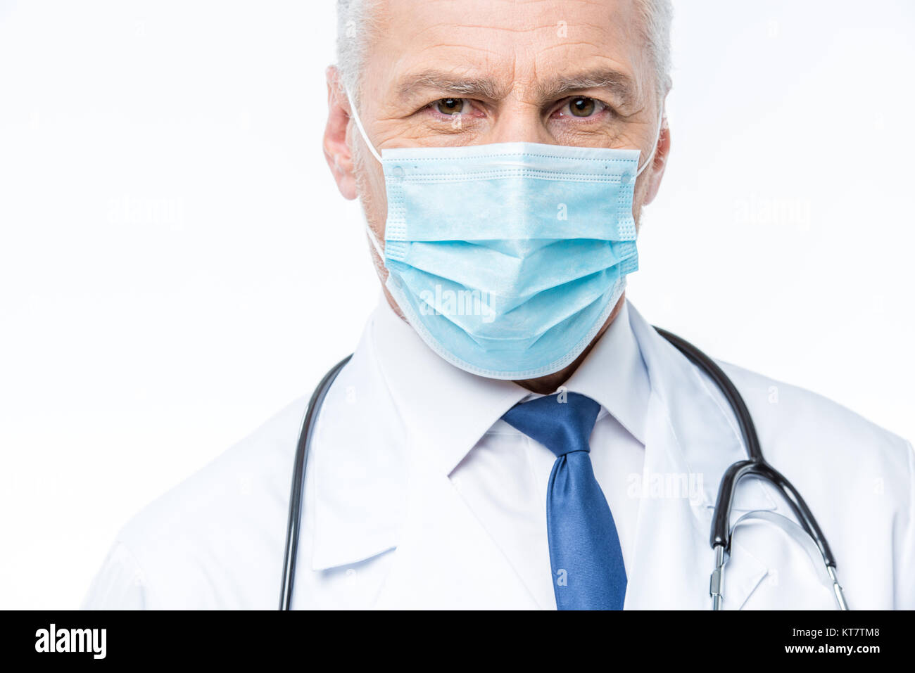 Doctor in medical mask Stock Photo
