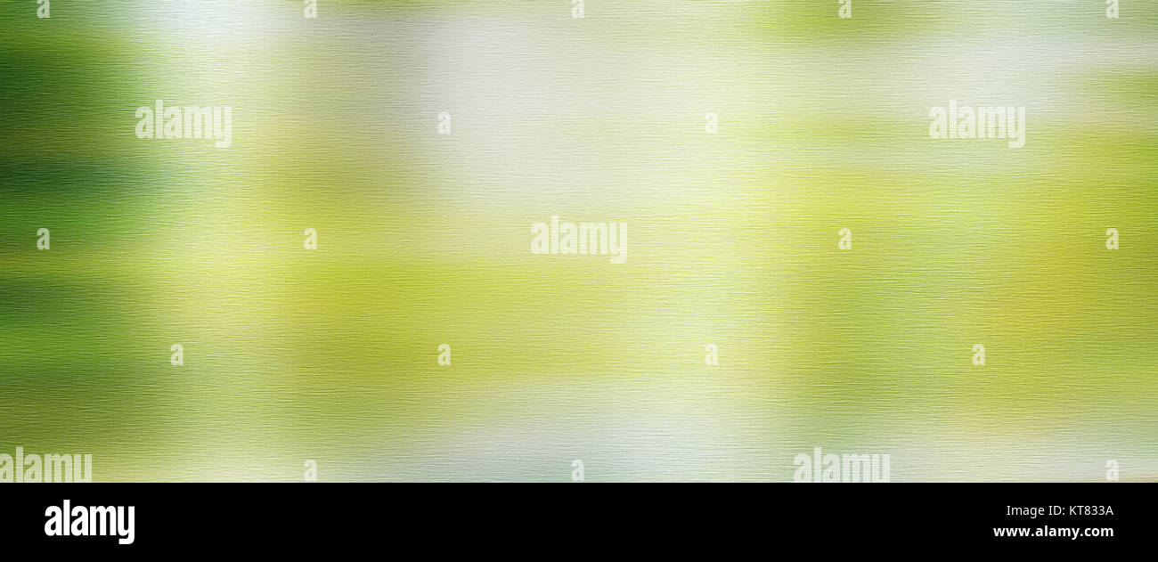 Polished metal surface with fresh spring reflections for a background - Stock Image