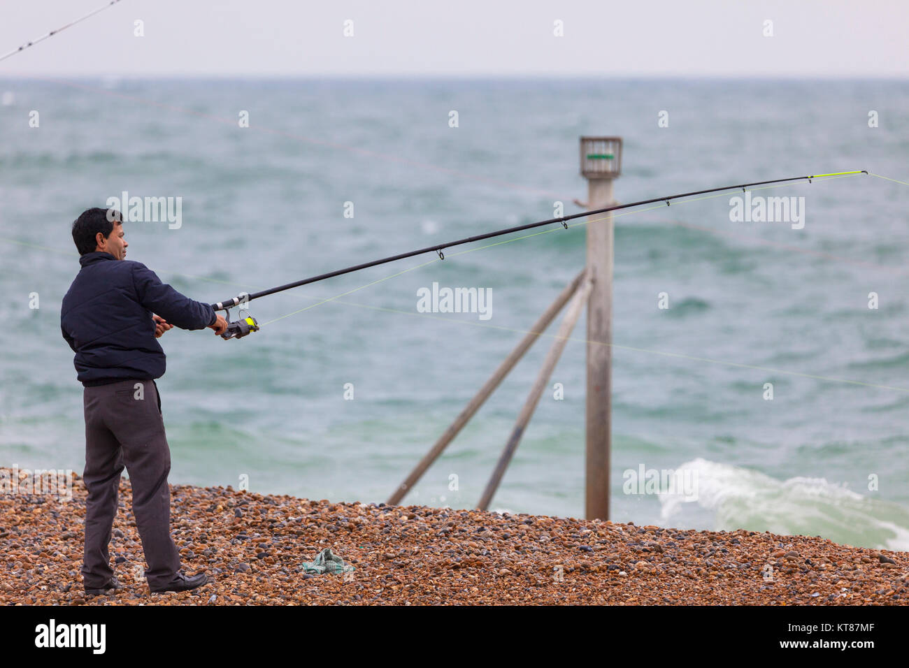 casting off; Stock Photo