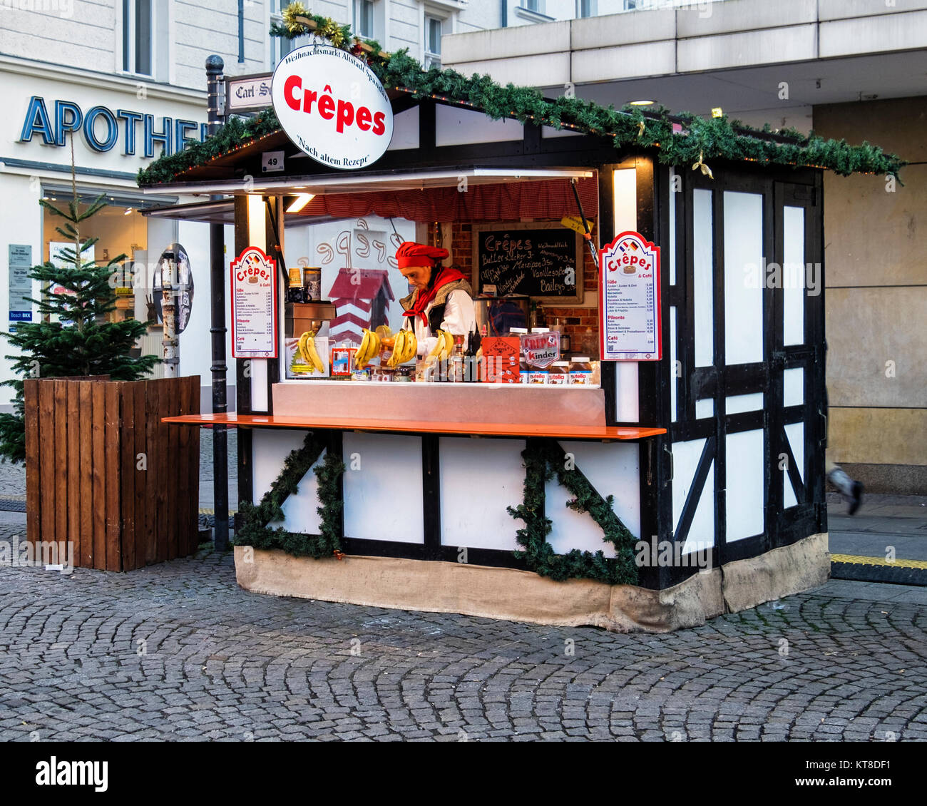german christmas market food stock photos german christmas market food stock images alamy. Black Bedroom Furniture Sets. Home Design Ideas