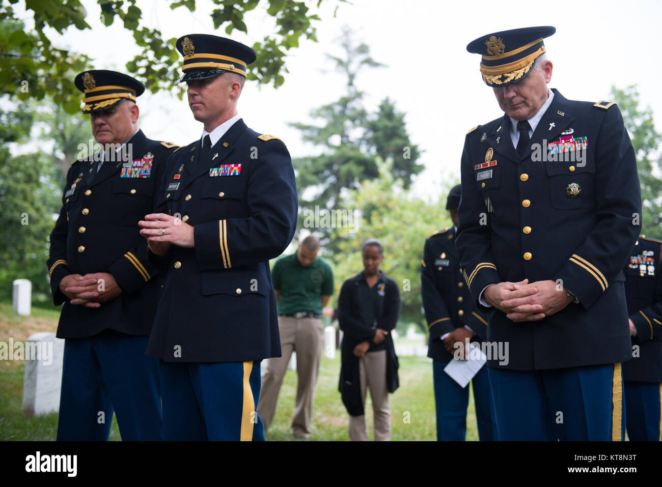 U s navy chief of chaplains stock photos u s navy chief of chaplains bow their heads during at prayer at the 242nd us army chaplain corps anniversary ceremony thecheapjerseys Gallery