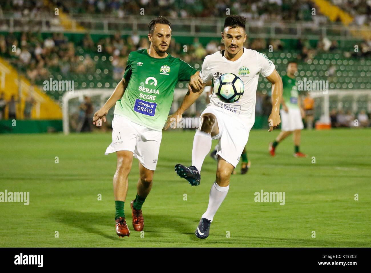 CHAPEC', SC - 22.12.2017: GAME OF THE STARS FRIENDS OF TITE X CARILL - William Bigode of Friends of Carille, - Stock Image