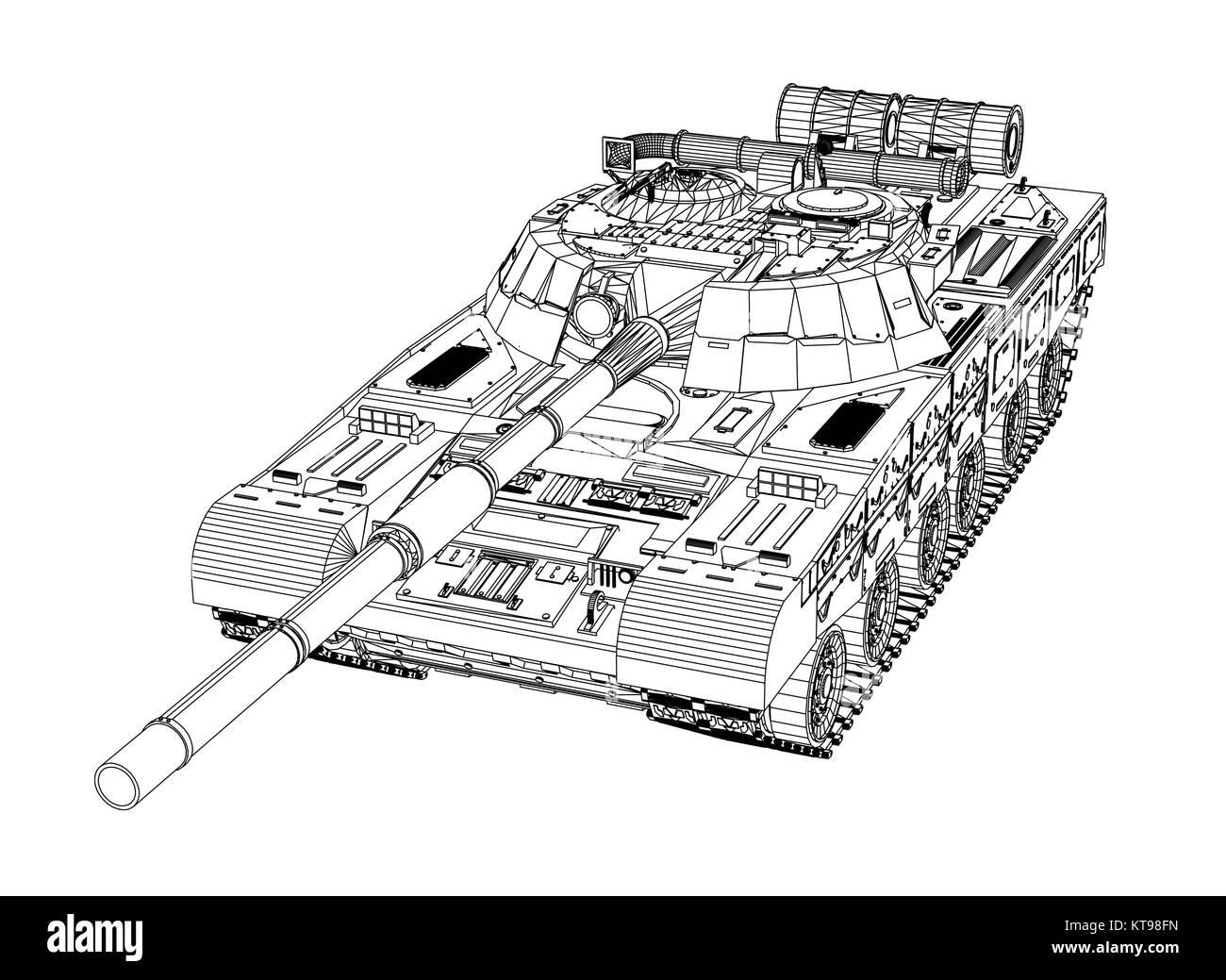 Blueprint of realistic tank stock vector art illustration vector blueprint of realistic tank stock vector art illustration vector image 169849337 alamy malvernweather Choice Image
