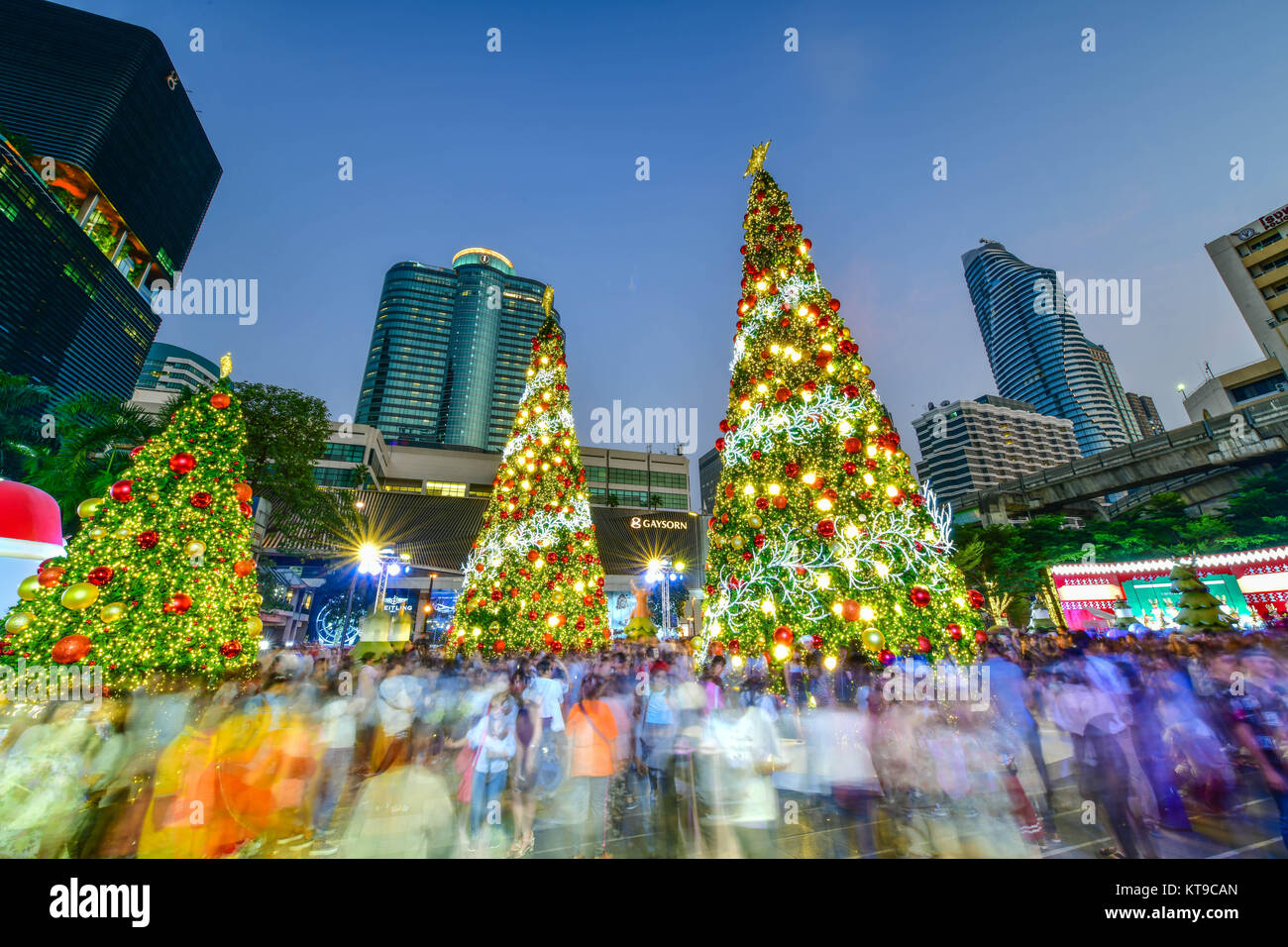 Central World Is One Of The Famous Places To Visit In Bangkok Before Christmas Day At Thailand
