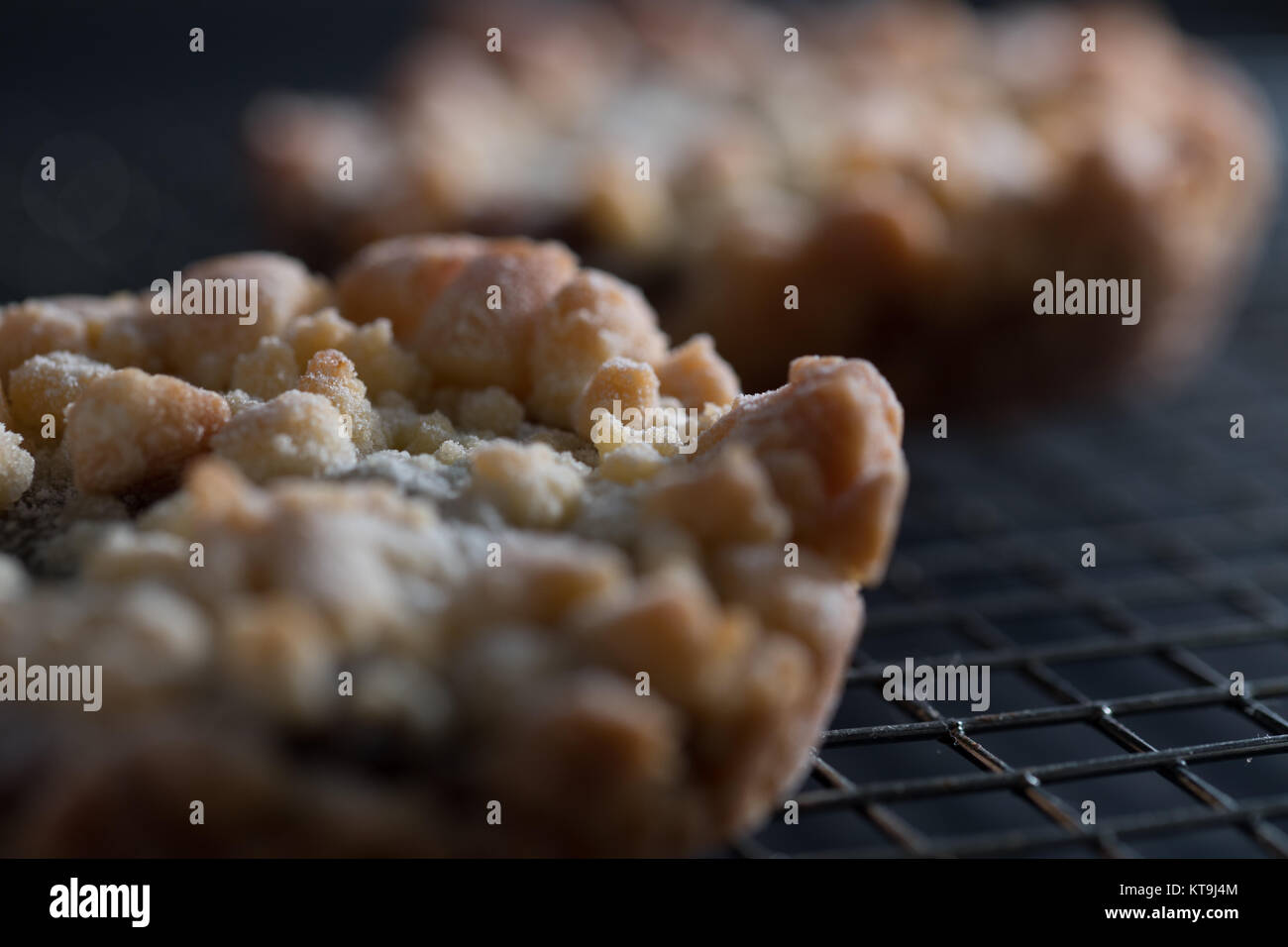 home baked mince pie - Stock Image